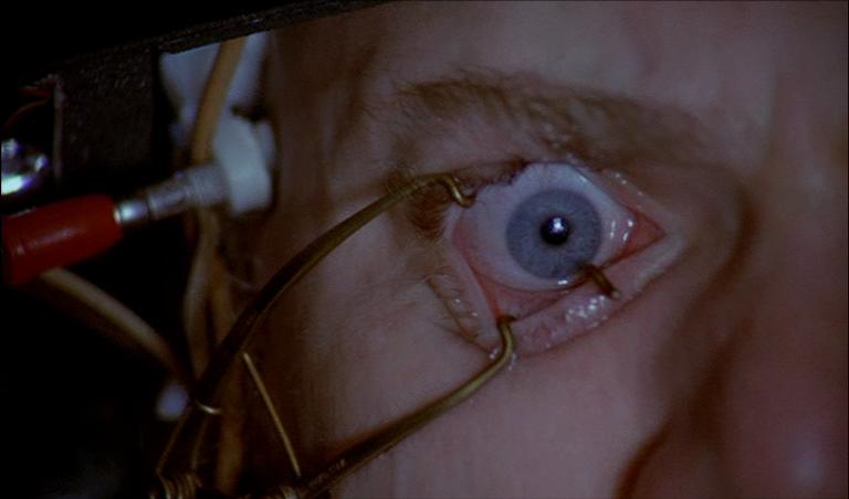 Resultado de imagem para the clockwork orange eye