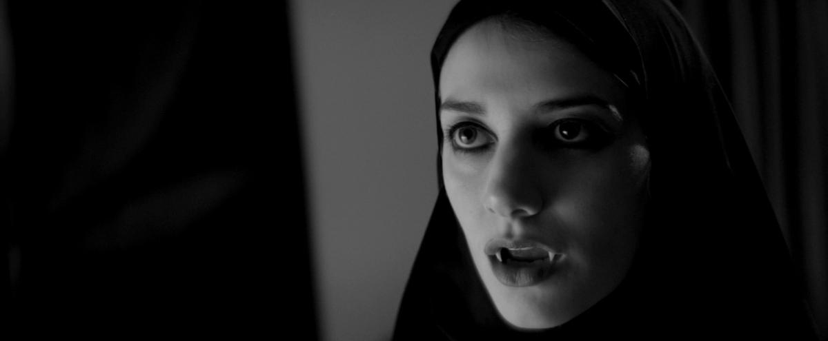 A Girl Walks Home Alone At Night  Filmgrab-4222